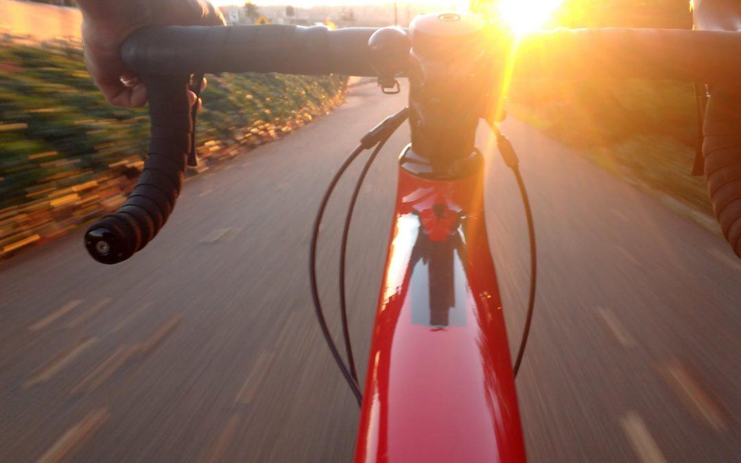 Med el-sykkelen som følgesvenn