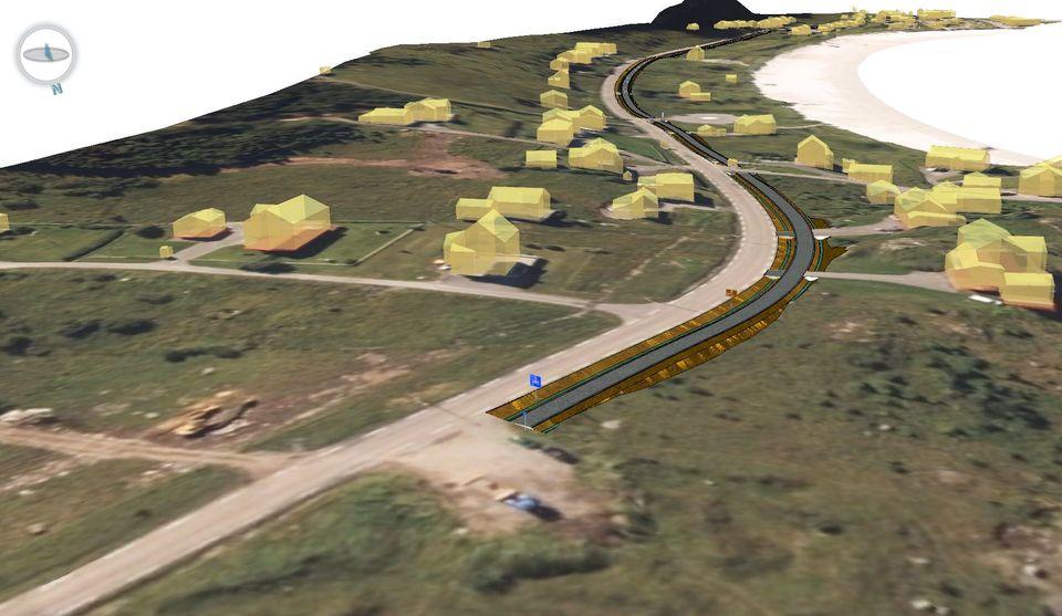 Vurderer forelenget gang- og sykkelveg langs E10 ved Ramberg
